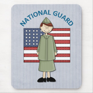 National Guard Female Customizable Mouse Pad