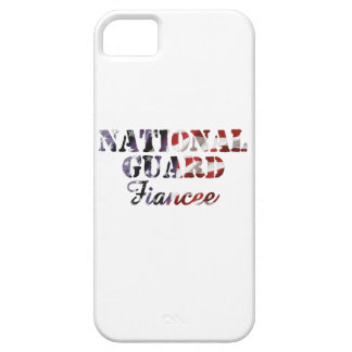 National Guard Fiancee American Flag iPhone 5 Cover