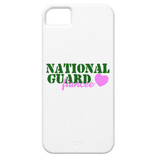 National Guard Fiancee Green Pink Heart iPhone 5 Cover