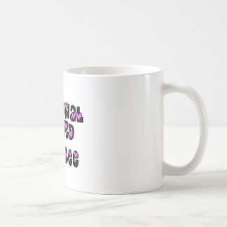 National Guard Fiancee Pink Hearts Coffee Mug