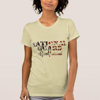 National Guard Girlfriend American Flag Shirt