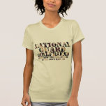 National Guard Girlfriend Answering Call T-Shirt