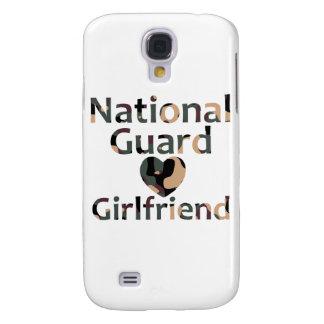 National Guard Girlfriend Heart Camo Samsung Galaxy S4 Cases