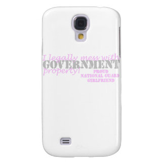 National Guard Girlfriend  Legally Mess Galaxy S4 Cover