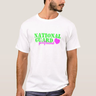 National Guard Girlfriend Lime Green T-Shirt