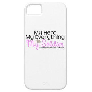 National Guard Girlfriend My Hero iPhone 5 Cases