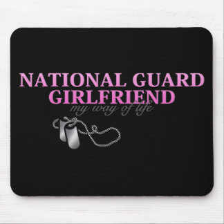 National Guard Girlfriend, my way of life Mouse Pad