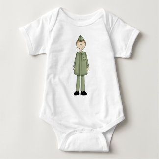 national_guard_guy baby bodysuit