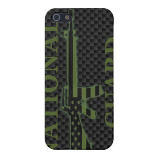 National Guard iPhone 4 Case Carbon Fiber