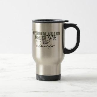 National Guard Issued Wife Travel Mug
