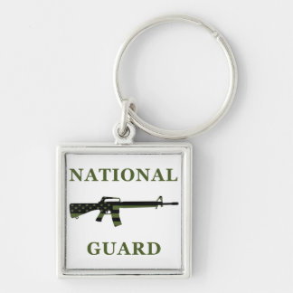 National Guard M16 Keychain Subdued