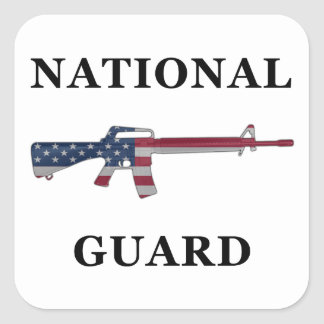 National Guard M16 Sticker