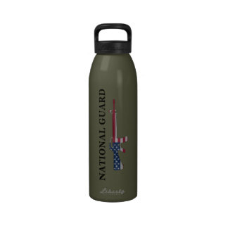 National Guard M16 Water Bottle