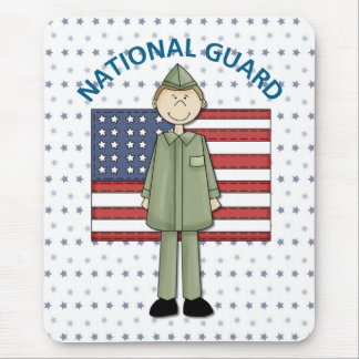 National Guard Male Customizable Mouse Pad