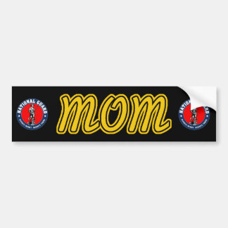 National Guard Mom Bumper Sticker