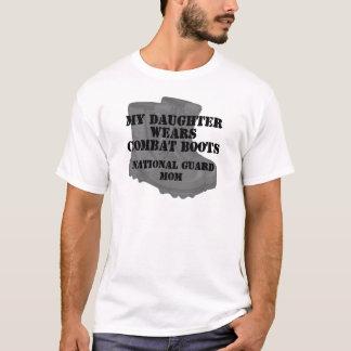 National Guard Mom Daughter CB T-Shirt