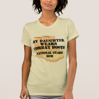 National Guard Mom Daughter DCB T-shirt