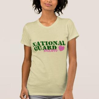 National Guard Mom Green Pink T-Shirt
