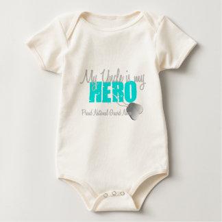 National Guard Niece Uncle Hero Baby Bodysuit