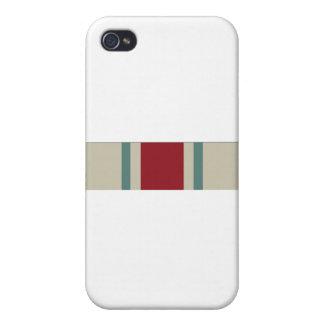 National Guard Reserve Commemorative Ribbon iPhone 4 Cases