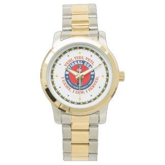 National Guard Shield Logo Wrist Watch