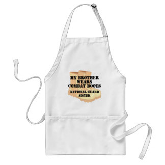 National Guard Sister Brother DCB Apron