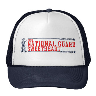 National Guard Sweetheart T-Shirts and Gifts Trucker Hat