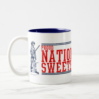 National Guard Sweetheart T-Shirts and Gifts Two-Tone Coffee Mug