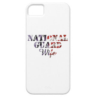 National Guard Wife American Flag iPhone SE/5/5s Case