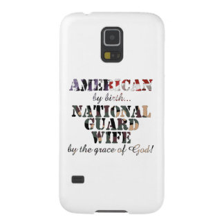 National Guard Wife Grace of God Galaxy S5 Case