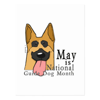 National Guide Dog Month Post Card