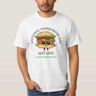 National Hamburger Day May 28th T-Shirt