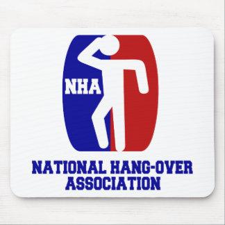 National Hangover Association Mouse Pad