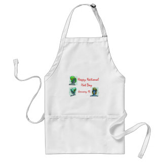 National Hat Day January 15 Adult Apron
