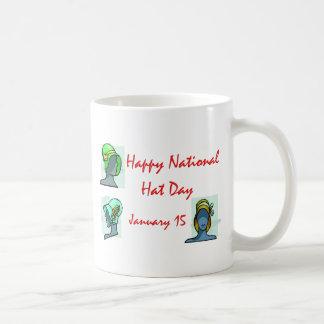 National Hat Day January 15 Coffee Mug