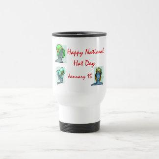 National Hat Day January 15 Travel Mug