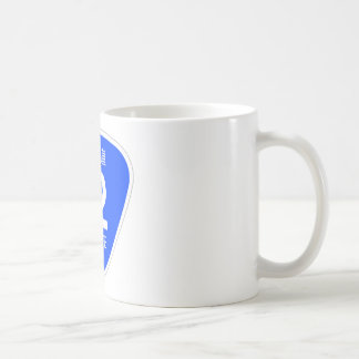National highway 12 line - national highway sign coffee mug