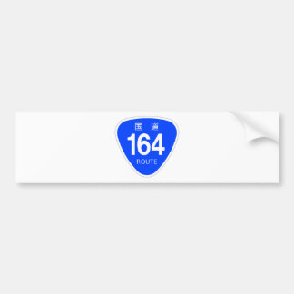 National highway 164 line - national highway sign bumper sticker