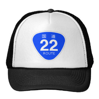 National highway 22 line - national highway sign trucker hat
