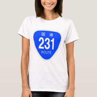 National highway 231 line - national highway sign T-Shirt