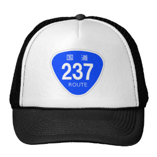 National highway 237 line - national highway sign trucker hat
