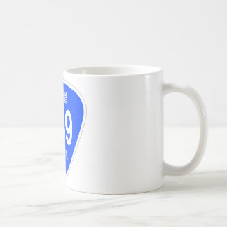 National highway 239 line - national highway sign coffee mug