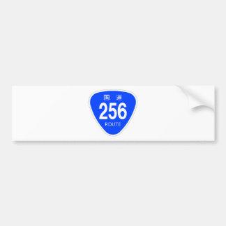 National highway 256 line - national highway sign bumper sticker