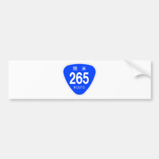 National highway 265 line - national highway sign bumper stickers