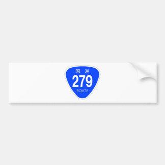 National highway 279 line - national highway sign bumper sticker