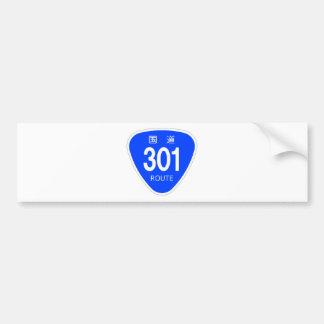 National highway 301 line - national highway sign bumper sticker