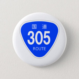 National highway 305 line - national highway sign button