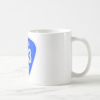 National highway 323 line - national highway sign coffee mugs