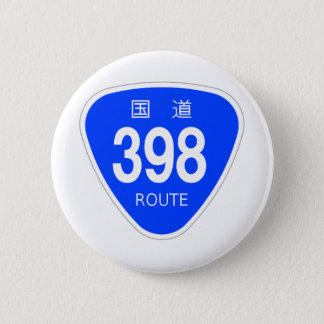 National highway 398 line - national highway sign button