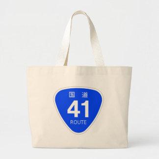 National highway 41 line - national highway sign bag